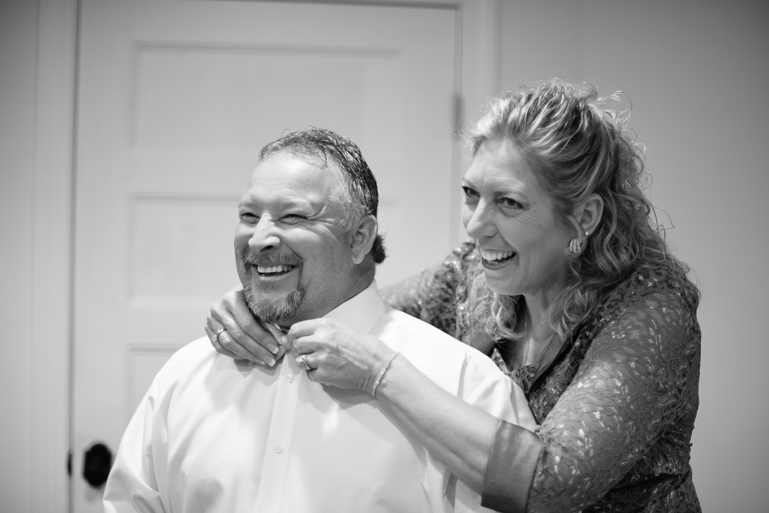 mother and father of the groom for a wilmington wedding