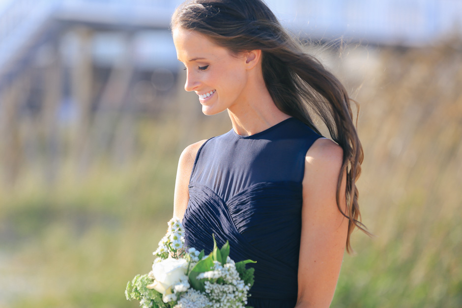 holden beach maid of honor photography