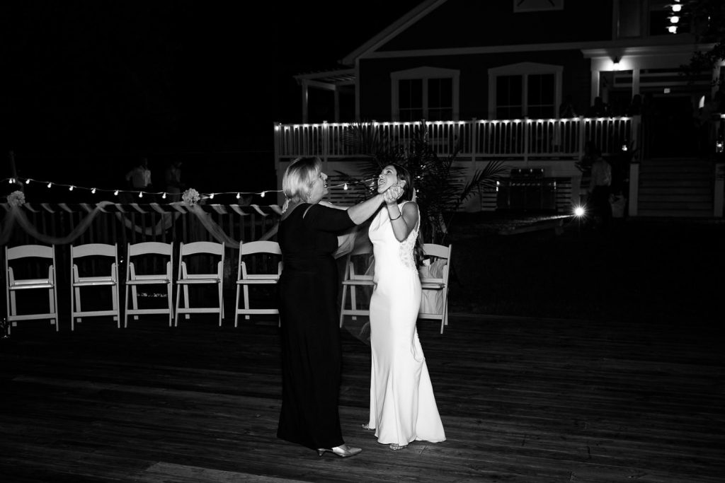 mother and daughter dance int cape fear yacht club